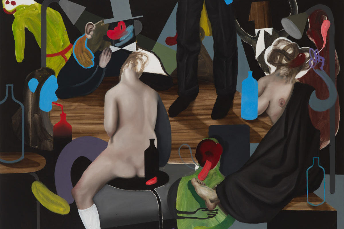 Giuliano Sale, The Big Party, 2017, Oil On Canvas, 150×200 Cm