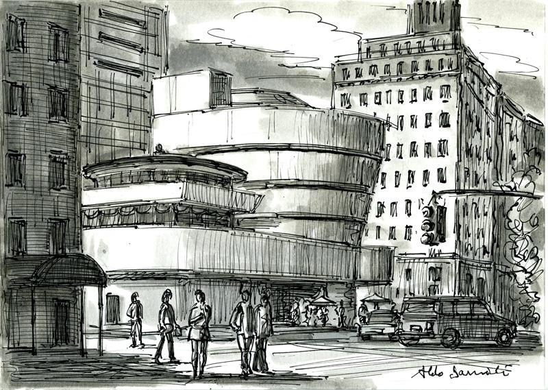 Aldo Damioli, 2014, Mixed Media On Paper, 21x28 Cm