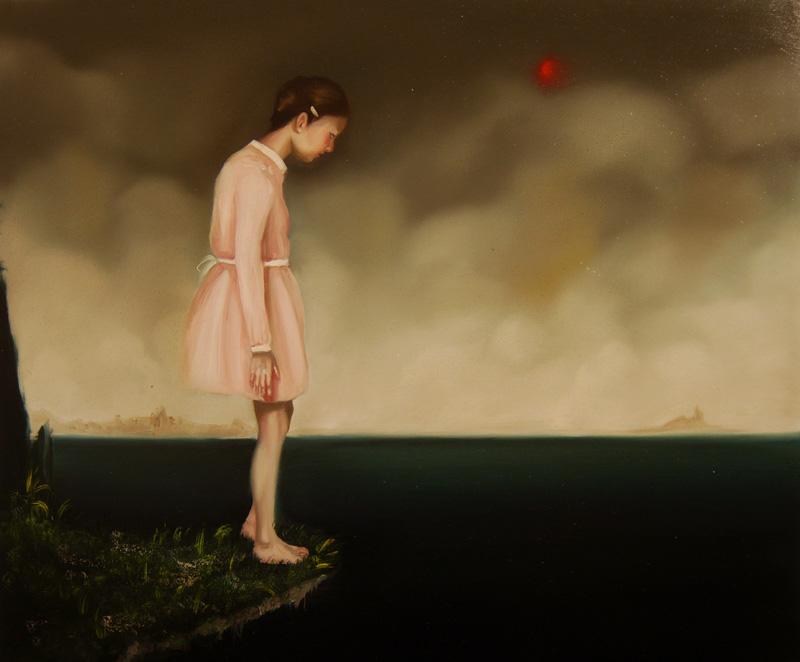 Giuliano Sale, Boccate Di Nero Dolce Sangue, 2010, Oil On Canvas, 50x60 Cm
