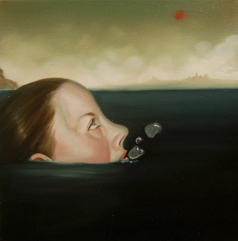 Giuliano Sale, Senza-titolo, 2010, Oil On Canvas, 30x30 Cm