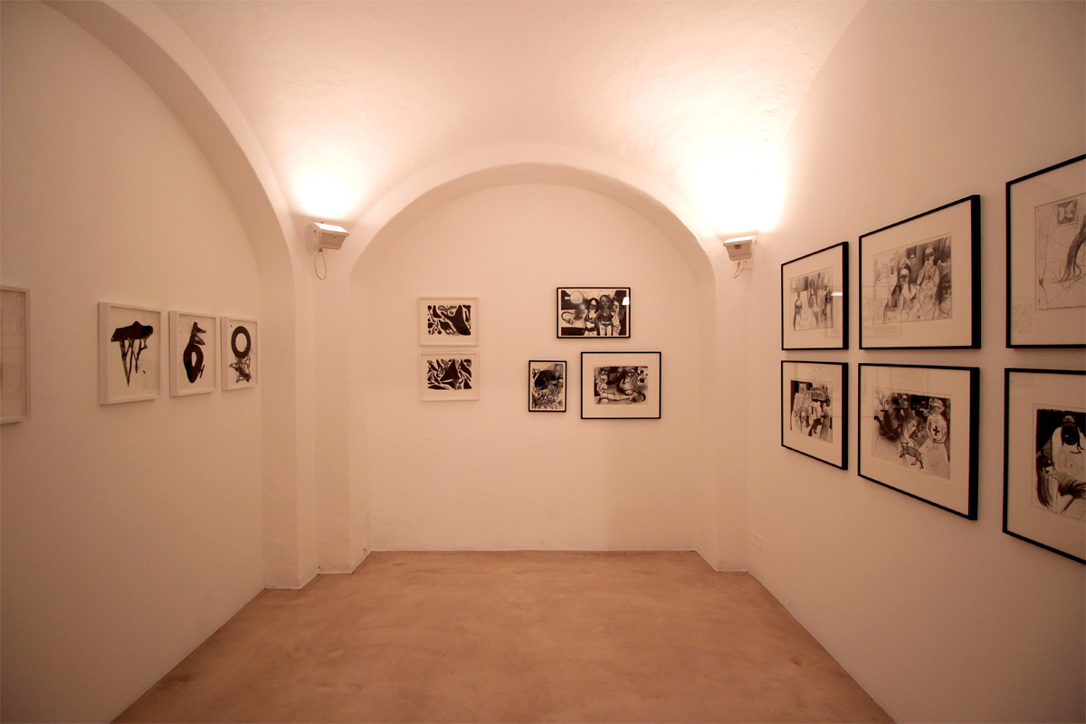 108 And Silvia Argiolas, Installation View