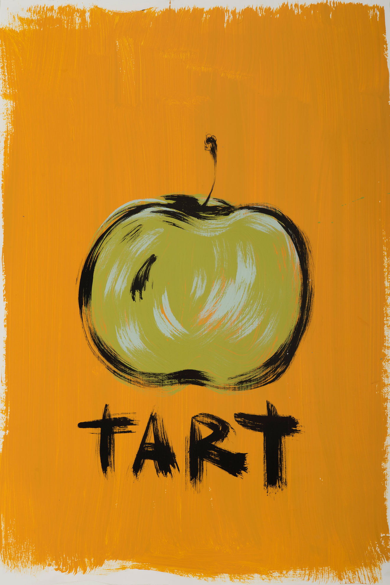 Russ Pope, Tart, 2016, Acrylic On Paper, 67,5×45 Cm