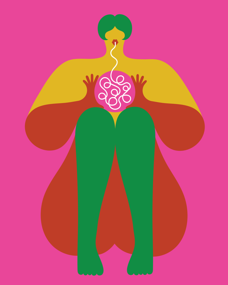 Olimpia Zagnoli, How to eat spaghetti like a lady, 2017, serigrafia su carta, ed.di 20, 50×40 cm (8)