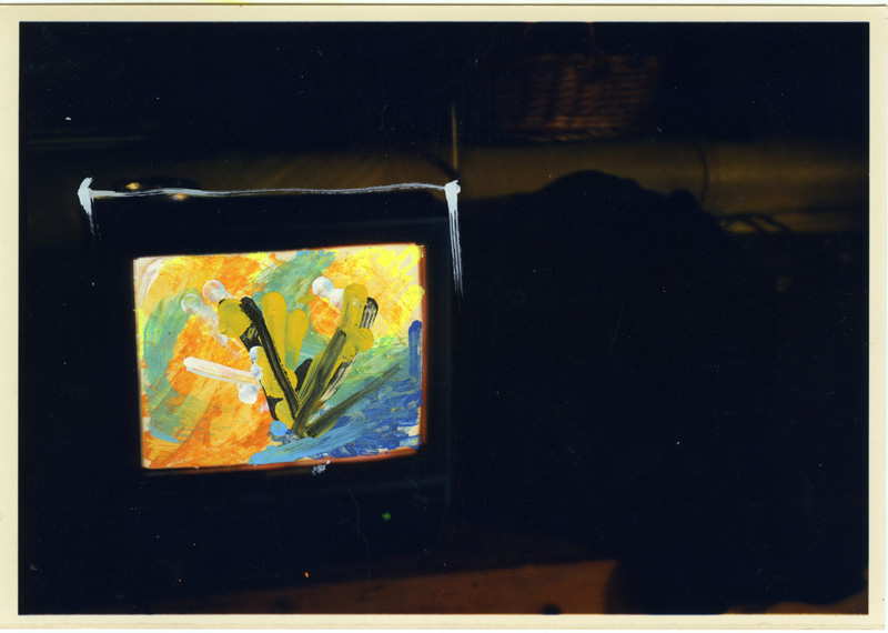 Mario Schifano, #333, foto ritoccate, 12×17 cm