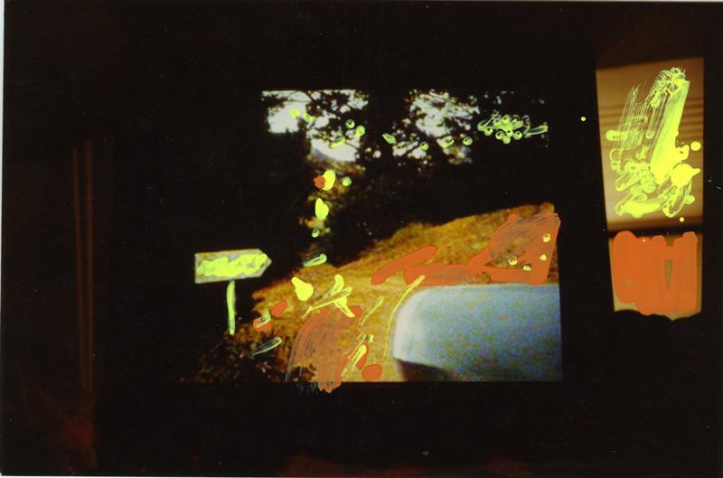 Mario Schifano, #350, foto ritoccate, 10×15 cm
