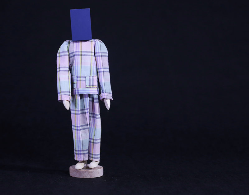 Guda Koster, wood and fabrics, 15x8x30 cm, edition of 6