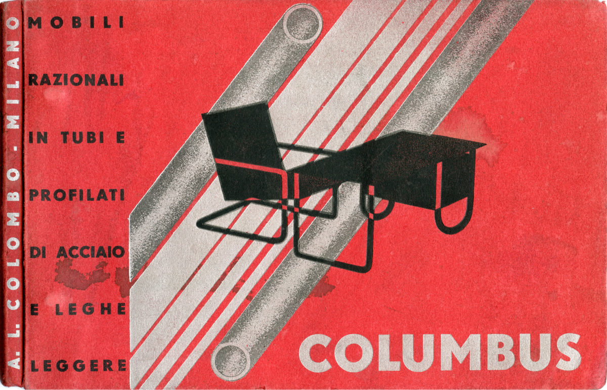 columbus continuum | Flessibili Splendori: Columbus e il mobile in tubo metallico