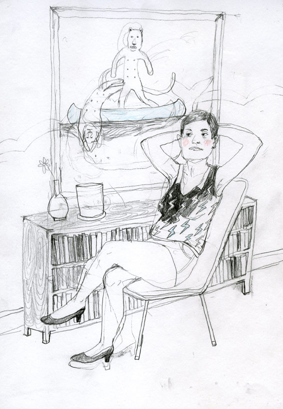 Erika Nordquivist, Untitled 7, 2018, 21x29cm 400