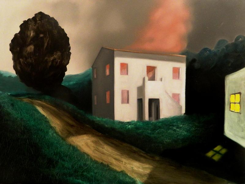 Giuliano Sale, Senza Titolo, 2012, oil on canvas, 60x80 cm