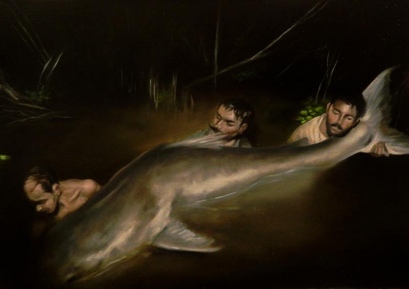 Giuliano Sale, Senza Titolo, 2012, oil on canvas, 50x70 cm