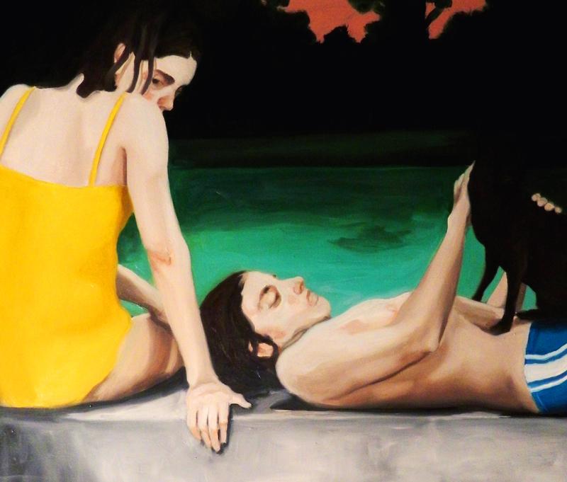 Giuliano Sale, Senza Titolo, 2014, oil on canvas, 60x70 cm