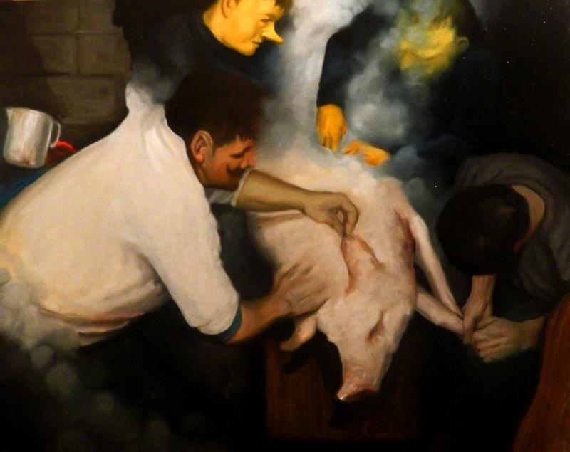 Giuliano Sale, Deposizione, 2012, Oil On Canvas, 80x100 Cm