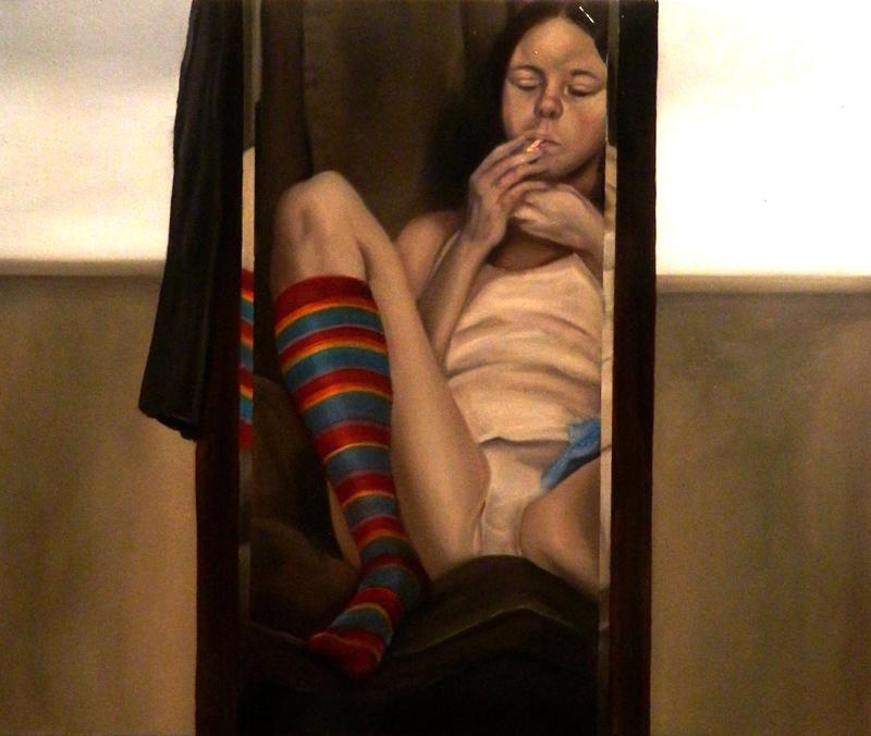 Giuliano Sale, La Noia, 2013, Oil On Canvas, 50x60 Cm