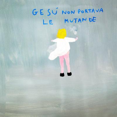 Gesù Non Portava Le Mutande, 2005, 40x40 Cm, Acrilico Su Tela