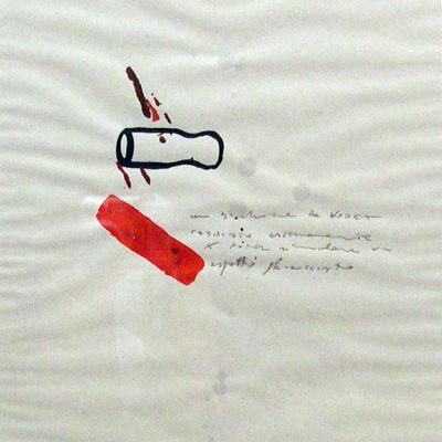 Disegni, 1990, Acquarello E Matita Su Carta, Cm 37,5x28,5-12