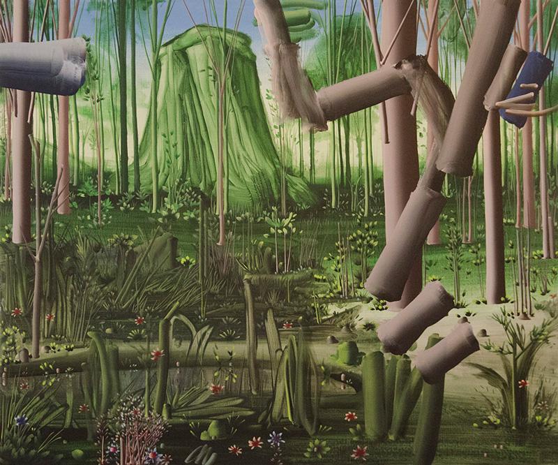 Pastorello, Senza Titolo, 2011, Acrilico Su Tela, Cm 100×120