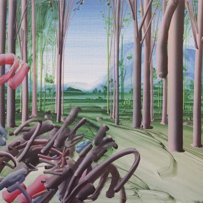 Pastorello, Senza Titolo, 2013, Acrylic On Canvas, 60x80 Cm