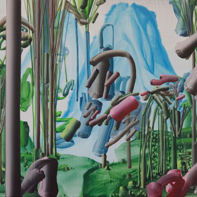 Pastorello, Senza Titolo, 2013, Acrylic On Canvas, 40x50 Cm