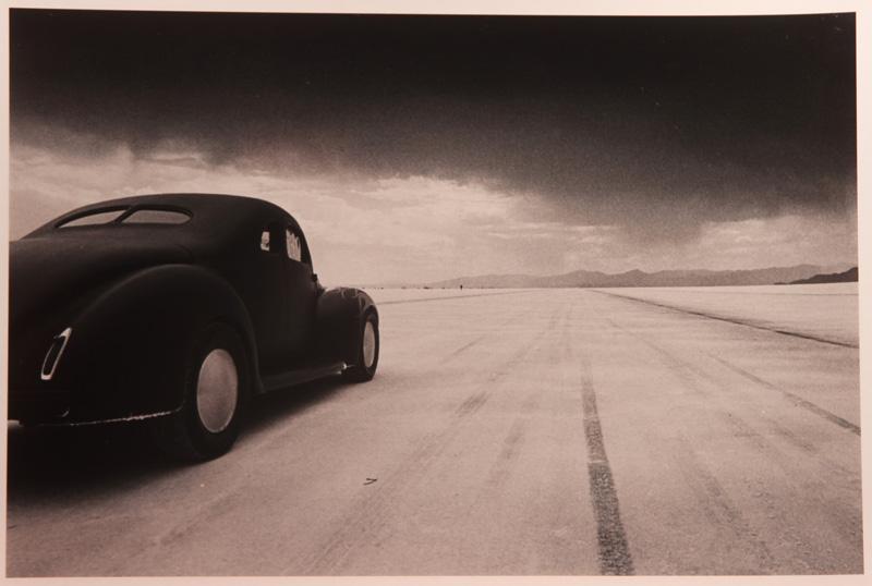 David Perry, 40 Coupe At Takeoff Bonneville Salt Flats, Utah Toned Silver Gelatin Print, 28x35,5 Cm