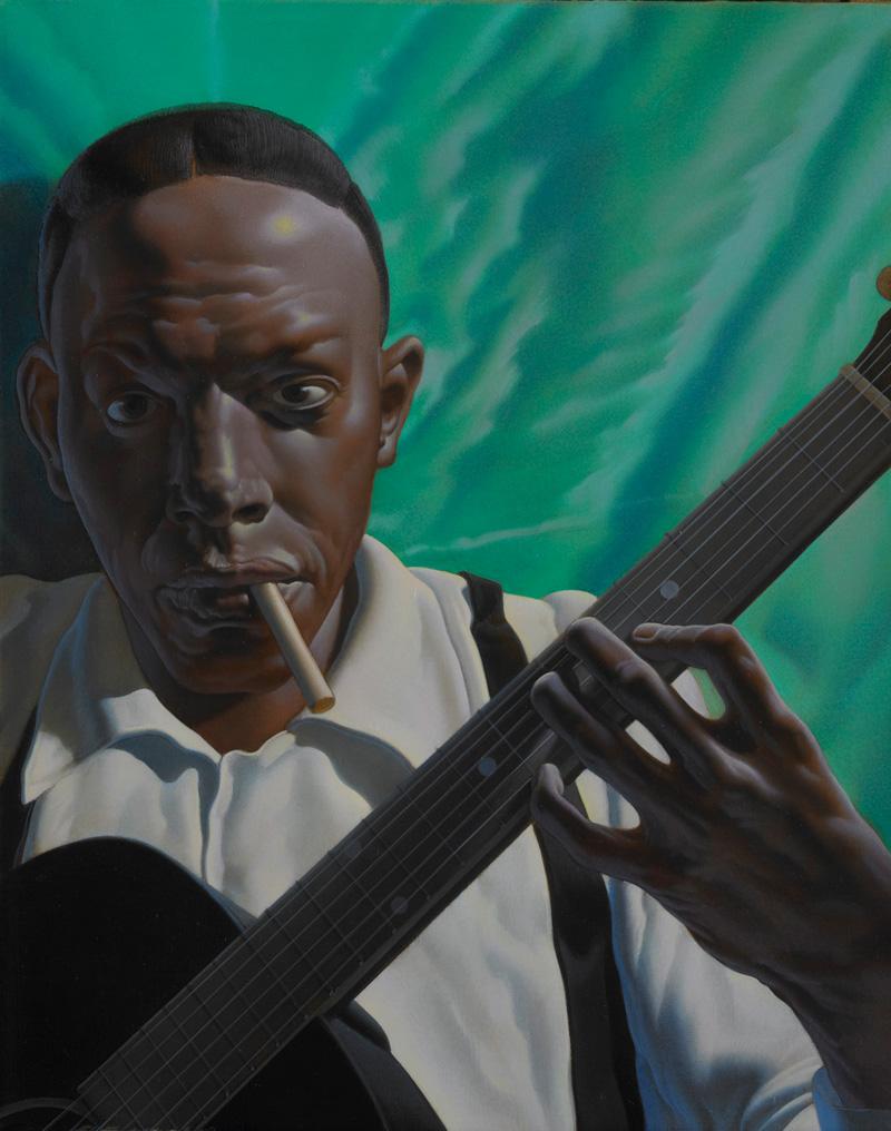 Nicola Verlato, Robert Johnson, 2010, Oil On Canvas, 48x38 Cm