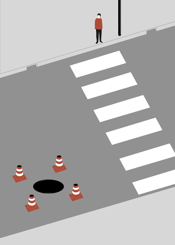 Shout, Crossing, 2011, Acquaforte E Acquaforte Su Carta, 50 X 70 Cm