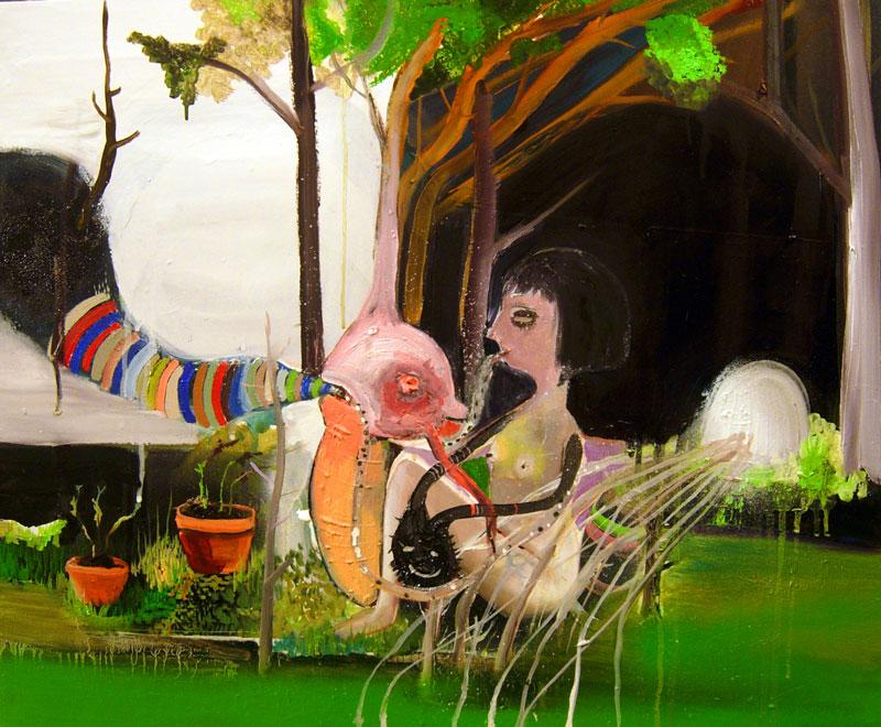 Silvia Argiolas, Non Sente, 2011, Oil On Canvas, 50x60 Cm
