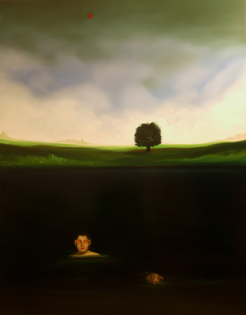 Giuliano Sale, Senza Titolo, 2010, Oil On Canvas, 140x110 Cm
