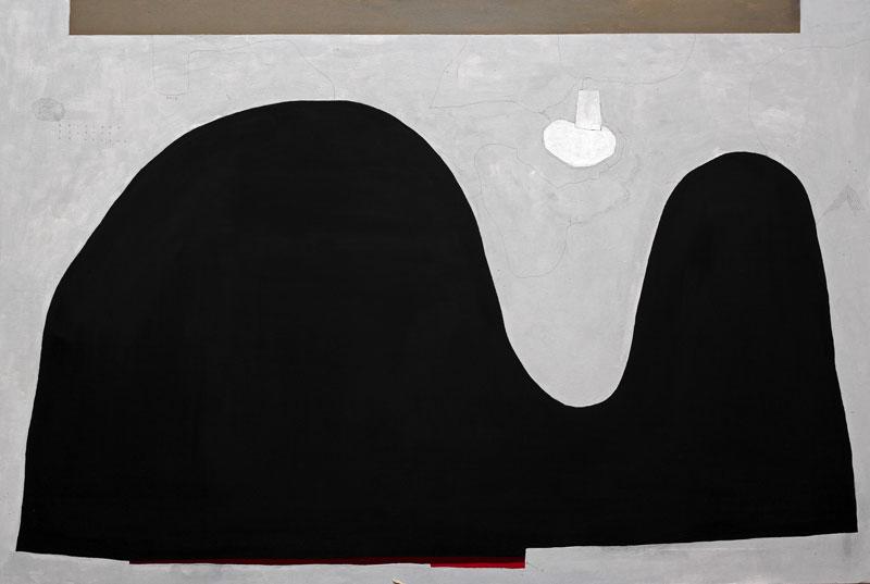 108, La città onirica, 2015, olio su tela, 80x120 cm
