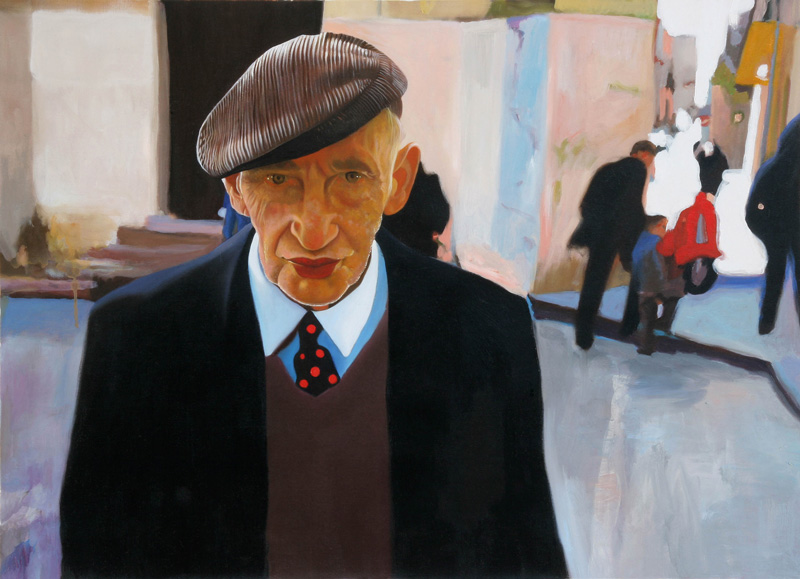 Francesco Lauretta, Giovannino, 2007, oil on canvas, cm 49x69
