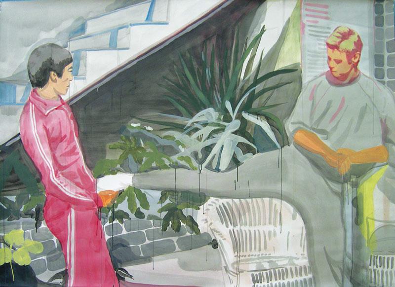 Jet Kune Doo, 2004, Mixed Media On Paper, 200x150 Cm