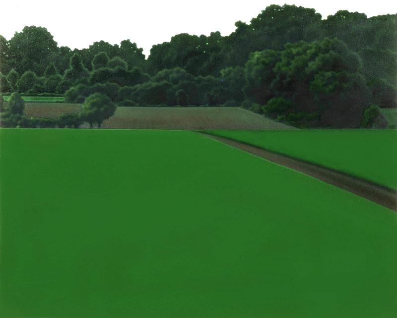 Valentina D'Amaro, Senza titolo, ;5g, 06, oil on canvas, cm 80x100