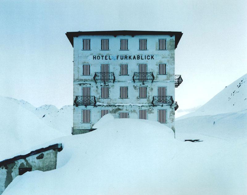 Thomas Flechtner, Passes 13, Furka 1998, C-Print, 125x100 cm