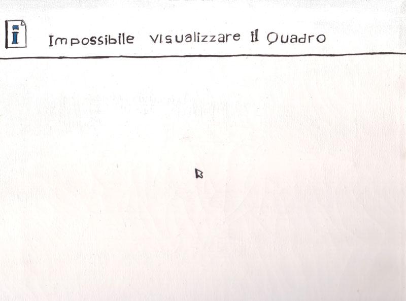 Impossibile Visualizzare Il Quadro, 05, Cm 150X200