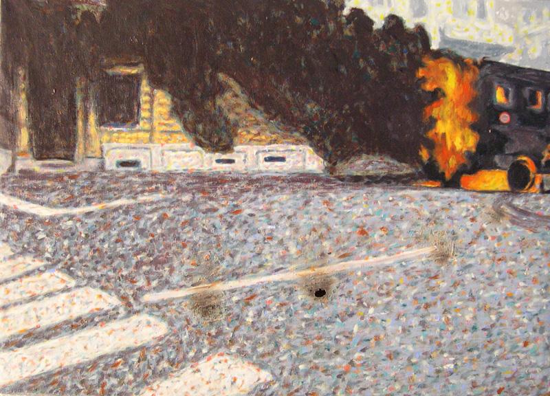 Andrea Salvino, Qualcosa è Cambiato, 2002, 50x70 Cm