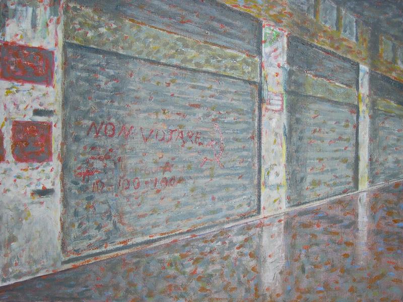 Andrea Salvino, Non Votare, 2002, 30x40 Cm