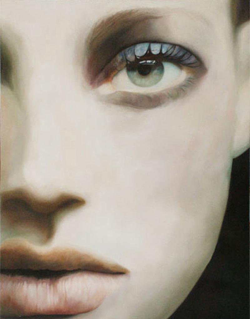 Debora Hirsch, S. T., 2002, Oil On Canvas, 130x100 Cm