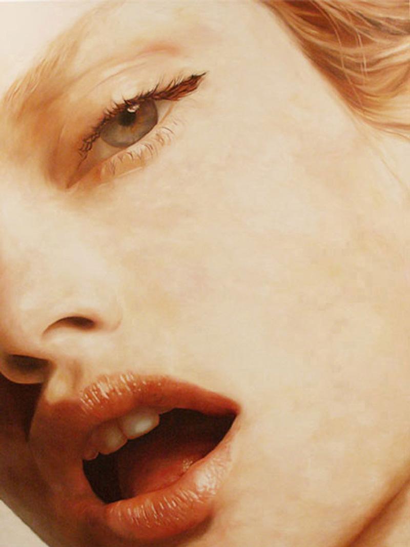 Debora Hirsch, S. T., 2002, Oil On Canvas, 200x145 Cm