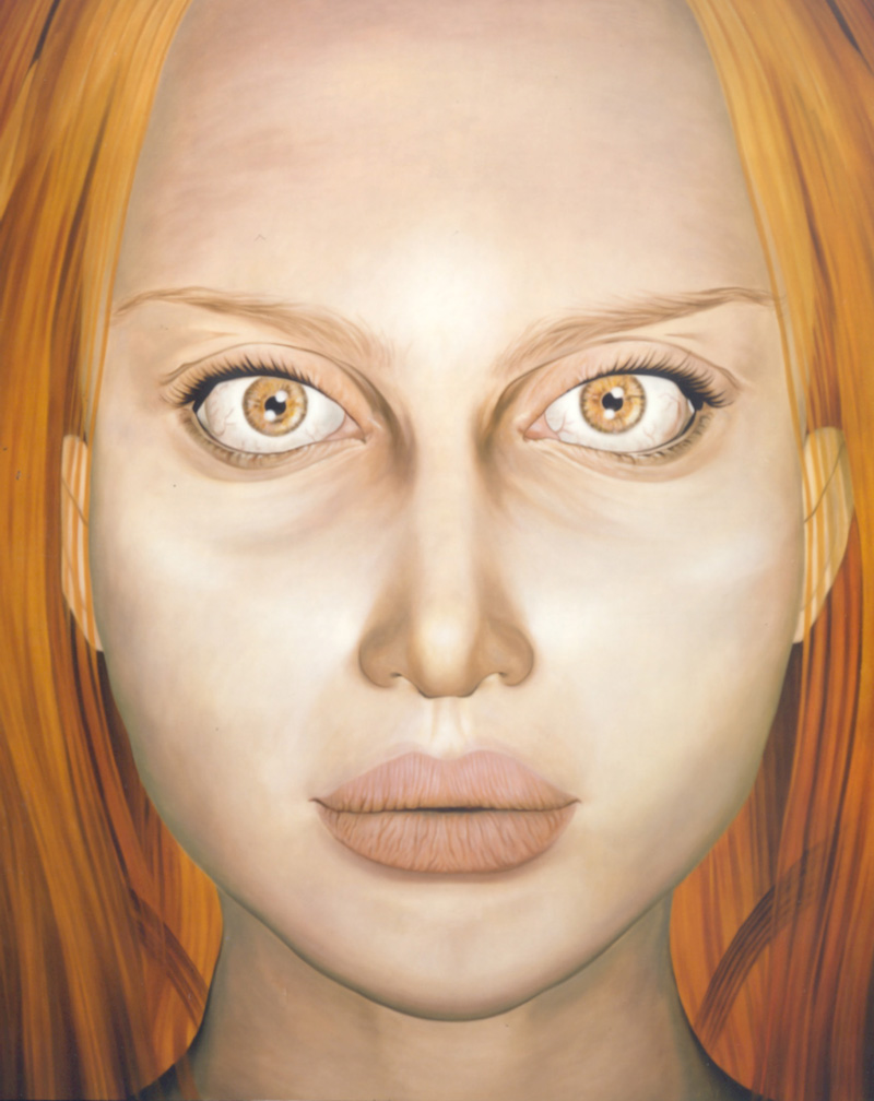 Debora Hirsch, Lachesis II, 2002, Oil On Canvas, 189x151cm
