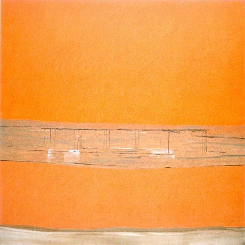 Pietro Capogrosso, Orizzonte, 2000, Oil On Canvas, 200x200 Cm