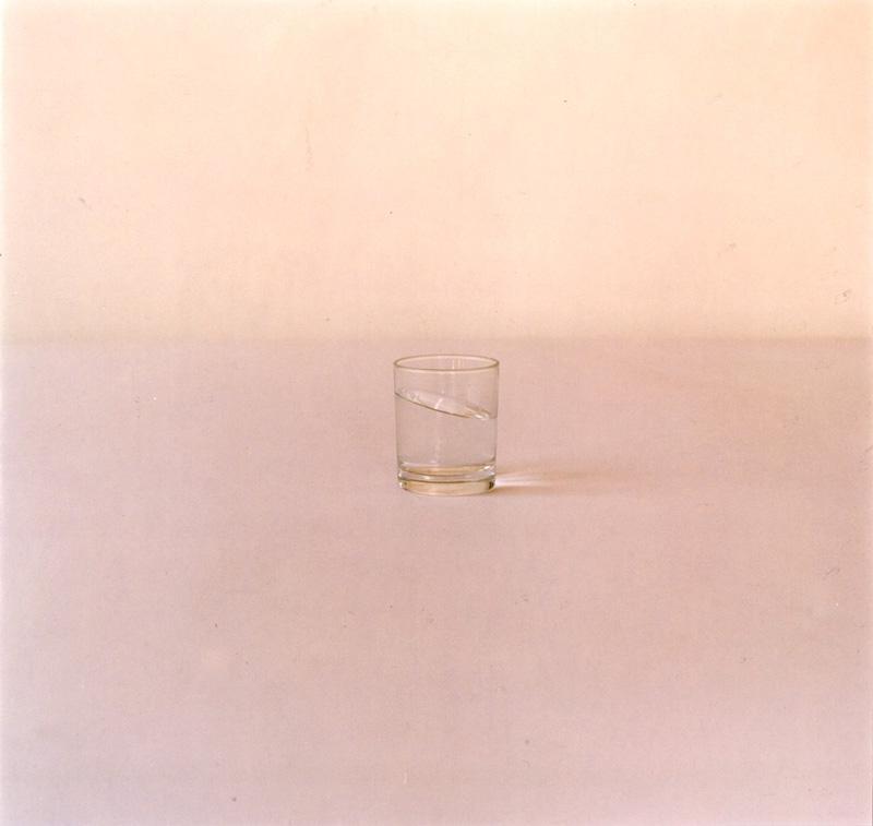Carlo Benvenuto, S.T. Bicchiere Con Acqua Inclinata, 1999, C-print, 75x75 Cm