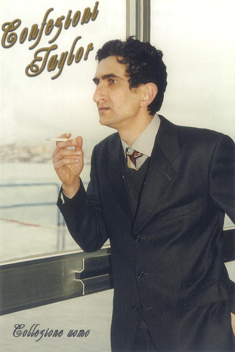Lorenzo Scotto Di Luzio, Confezioni Taylor. L'attesa, 2001, Postcard, 10x15 Cm Ed.60