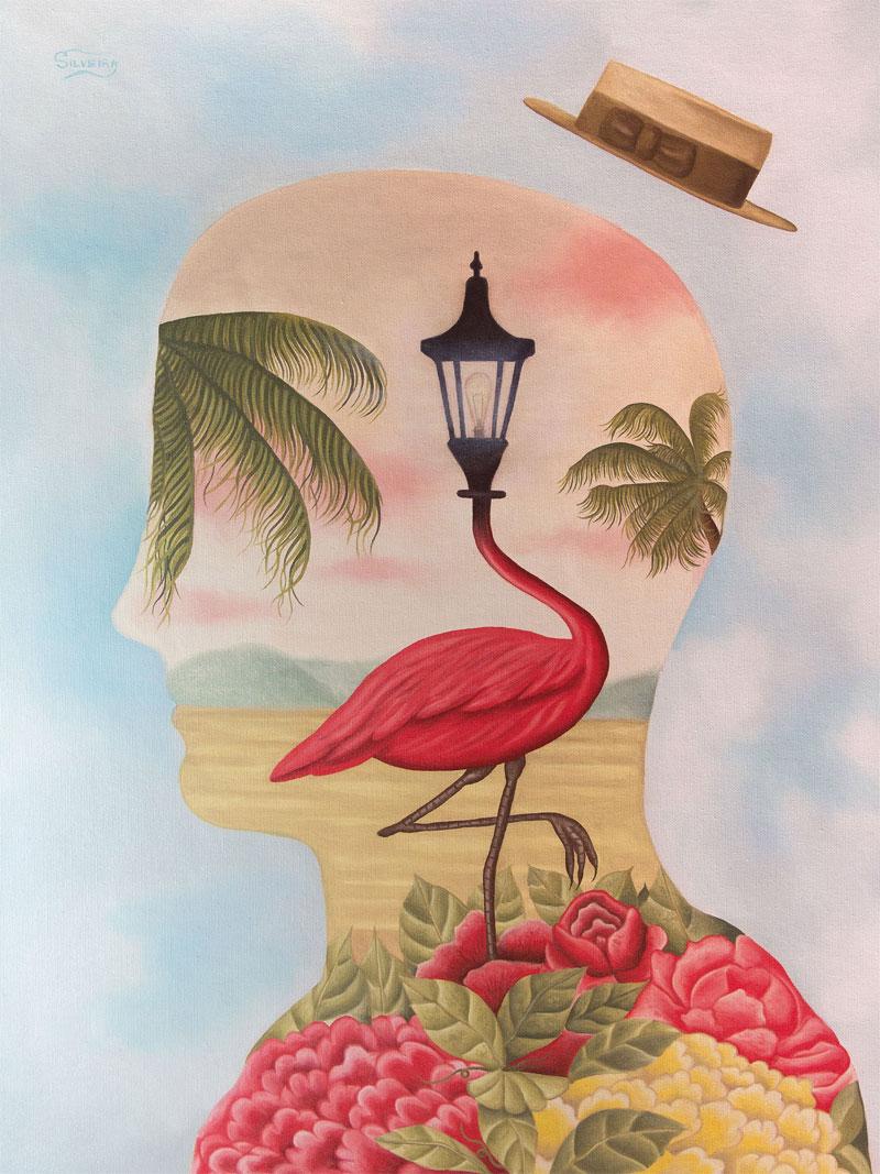 Rafael Silveira, Mindscape, 2015, Oil On Canvas, 60x45 Cm