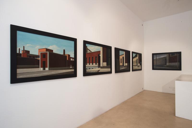 A. Cantafora – A.Mendini, Allestimento mostra Cose, Case, Città