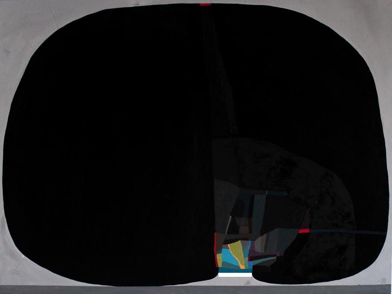 108, Intorno Allo Zero, 2016, Mixed Media On Canvas, 80×60 Cm