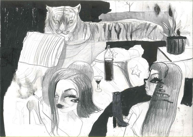 Silvia Argiolas, Stanze11, 2016, Mixed Media On Paper, 42×29,5 Cm