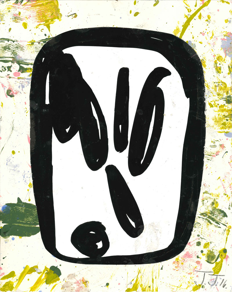 Josh Jefferson, Untitled, 2016, collage on paper, 30,5x23 cm