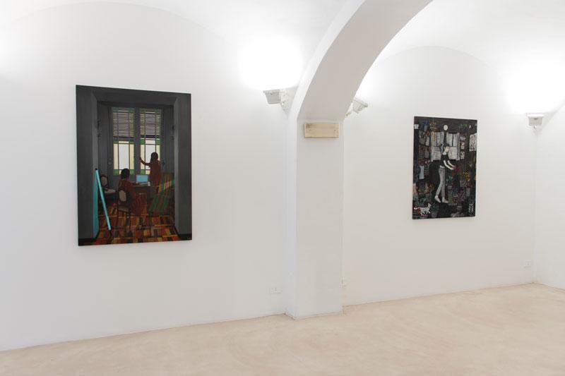 Andrea Fiorino, Dario Maglionico, Everyday is like sunday, installatio view
