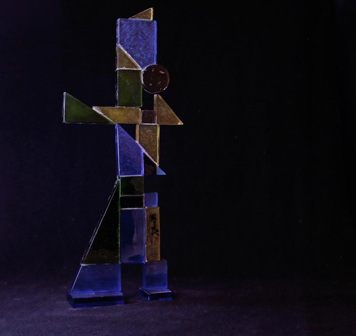 Antonio Perotti, glass, 8x18x40, edition of 6