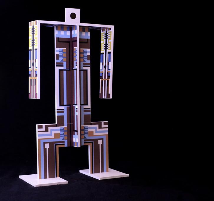 Bruno Gregory, Computerlare, polyplat, 25x10x35 cm, edition of 6