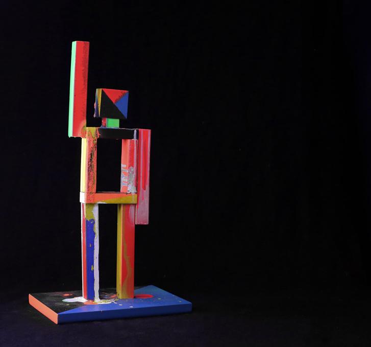 Daniele Innamorato, wood, 12x15x30 cm